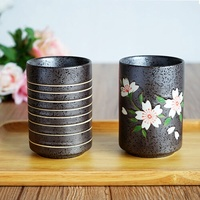 The west farmland wood rain originally home Japanese hand-drawing plum flower porcelain and ceramics 300ML-Great Mug - intl
