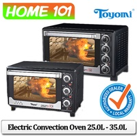 Toyomi Electric Convection Oven 25.0L - 35.0L [TO 2311RC][TO 3533RC]