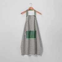 Hearth and Hand with Magnolia Striped Cooking Apron Black/Cream Farmhouse - intl
