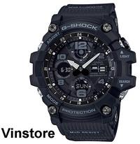 Casio G-Shock Mudmaster Master of G Solar Black Men Sports Watch GSG-100 GSG-100-1A GSG-100-1ADR GSG100-1A GSG100-1 GSG-100-1