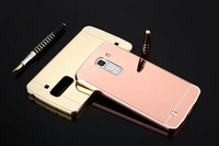 OPPO R11S/R11S Plus Metal frame + mirror sliding cover case