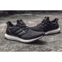 Adidas ultra boost ltd black 3.0 黑 真皮鞋墊支架 超限量鞋款 BA8924