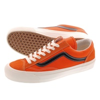 VANS VAULT OG STYLE 36 LX卡車螺栓OG風格36 LX RED ORANGE/BLACK vn-0a4bvevzh LOWTEX PLUS