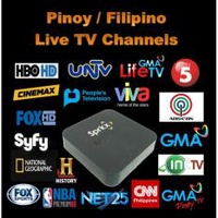 Sprkx Pivotal L008 - Philippines / Filipino / Pinoy / US Live TV Channels & Movies on Demand + Android TV Box