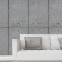 B153-181-50 日本壁紙 清水模 水泥 雙孔 仿建材
