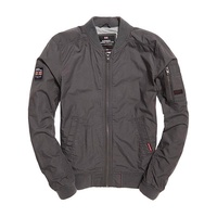 Superdry Rookie Duty Bomber Gunmetal Grey , Gunmetal Grey - X-Large