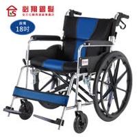【必翔銀髮】 座得住輕量型手動輪椅 PH-182B (後折背款)