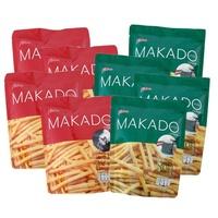 泰國 MAKADO 麥卡多 薯條 海苔薯條 鹽味薯條 (6包/袋裝) 餅乾 薯條餅乾