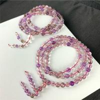 WS.L 三輪骨幹紫髮晶 超七5-6mm 紫水晶 紫三輪 天然水晶