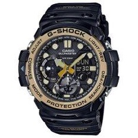CASIO G-SHOCK รุ่น GN-1000GB-1ADR (CMG) นาฬิกาข้อมือ สายเรซิ่น สีดำ ทอง Gulfmaster