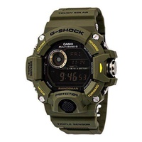 Casio G-Shock Rangeman Master Of G Series Stylish Watch - Green / One Size