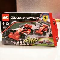 全新8123 樂高 RACERS 法拉利維修站
