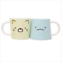 日貨 角落小夥伴 馬克杯 杯子 水杯 茶杯 杯 2件 貓 恐龍 Sumiko 角落生物 正版 J00015155
