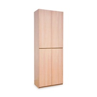 Julieta 4 Doors Tall Shoe Cabinet (FREE DELIVERY)(FREE ASSEMBLY)