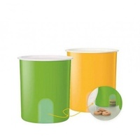 Tupperware One Touch Window Canister Set