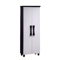 [A-STAR] LYLE TALL SHOE CABINET IN BLACK/WHITE