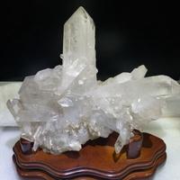 白水晶簇(999g)