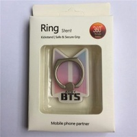BTS Bangtan Boys New Album Case 360 Degree Rotation Phone Ring Finger Buckle Stand Holder Cell Mobile Phone Stand Accessories Rings ZHK - intl