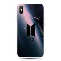 Simple BTS iphone Universal TPU phone case for Apple iphone 8 7 6 6S plus X XS MAX XR 5S se and Sams