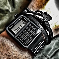 Purchasing Casio CA53W Casio old white calculator watch men and women alarm clock chronograph multi-function watch
