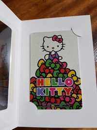 Hello Kitty ezlink card