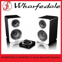WHARFEDALE DIAMOND A1 Active Bookshelf Speakers inc H1 Hub (PAIR)
