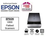 Epson Flatbed Scanner Perfection V800 Photo Color Scanner ** Free $100 NTUC Voucher Till 5th Jan 2019 ** V 800