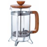 【HARIO】橄欖木濾壓咖啡壺600ml(CPSW-4-OV)