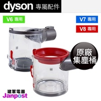 [全店97折]【建軍電器】原廠集塵桶 Dyson DC62 DC59 DC74 V6 V7 V8 DC61 SV07 SV09 適用 集塵盒