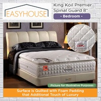 King Koil Premier Spinal Guard 8″ Mattress | Bedroom | Available in Single/Super Single/Queen/King