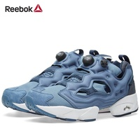 Limited quantity Special SALE ) Reebok Unisex Classic Instapump Fury Tech AR0624 Royal Slate 310g Sneaker