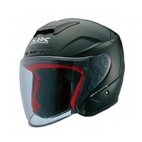 SBK ZR  亮光黑 / 半罩式安全帽 雙D扣 舒適行內襯 力學內襯 流線型外觀 加贈鏡片 【 歐樂免運】