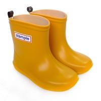 Stample日本製兒童雨鞋(布丁黃)