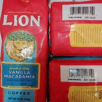 (現貨/咖啡豆)2020/04/29獅王咖啡~獅王香草堅果咖啡(豆)-香草咖啡/堅果咖啡/真品平行輸入日本購買回來