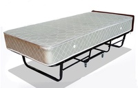 Hotel Grade Foldable Bedframe With Mattress (Folding Mattress)