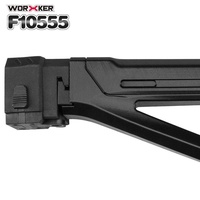 PKPNS Worker Mod Shoulder Stock Replacement Kit For Nerf N-strike Elite Toy Gun