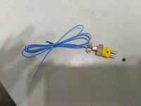 現貨K-type日本線材 PTFE鐵氟龍線1M感溫線 測溫線  熱偶線 適用TM902C TES1310 GM1312