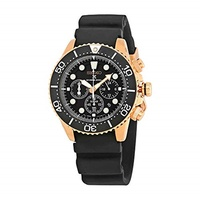 ▶$1 Shop Coupon◀  SEIKO Prospex Sea Diver s 200m Chronograph Solar Sports Watch Rose Gold SSC618P1