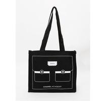 正品 Chanel 香奈兒 硬質 類牛仔布 VIP贈品 帆布購物袋 帆布包 慈善款基金會合作款 小香包 托特包