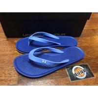 【 鋒仔球鞋 】UNDER ARMOUR UA拖鞋 夾腳拖 紫色 全防水 女鞋 1252540-500