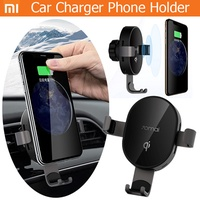 Xiaomi 70mai  Fast Wireless Car Charger 10W  Bracket Intelligent Sensor Phone Holder for Car Auto