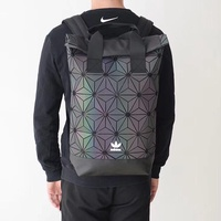 adidas backpack roll top 3d issey miyake diamond shoulder backpack male bag