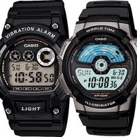 Casio clock W-735H-1A Vibratn alarm