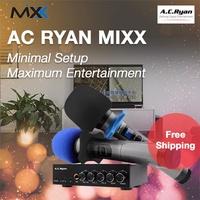 AC Ryan MIXX - BT Karaoke Mixer + 2 Wireless Mics!  Connects to any sound system for KTV!