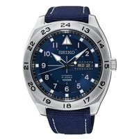 Seiko Criteria SRPC73K1 Analog Quartz Blue Nylon Men Watch