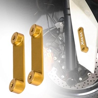 Motorcycle Front Axle Plate Decorative Cover for Yamaha Xmax 300 XMAX300 X-MAX 300 17 18