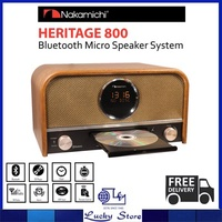 NAKAMICHI BLUETOOTH MICRO HI-FI SYSTEM WITH BLUETOOTH AND CD PLAYER * HERITAGE 800 * LOCAL WARRANTY