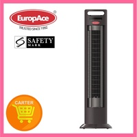 EuropAce Slanting Tower Fan with Ionizer ETF956P