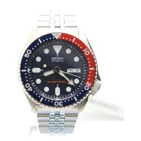 Seiko Scuba Diver Jubilee Men Silver Stainless Steel Watch SKX009K2