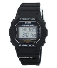Casio G-Shock Illuminator Alarm Chrono Men's Black Resin Strap Watch DW-5600E-1V